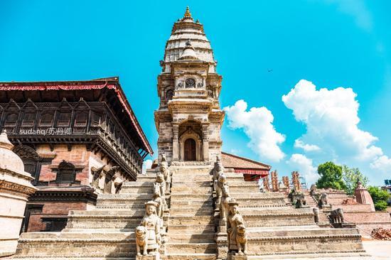 尼泊尔最美广场 地震后仍是迷人
