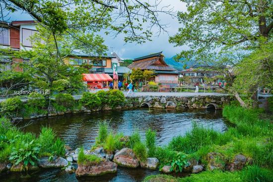 这几个地方被誉为日本的九寨沟