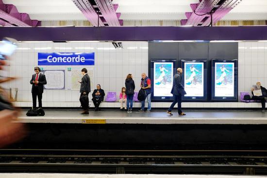 五月巴黎,百年地铁里的人生百态