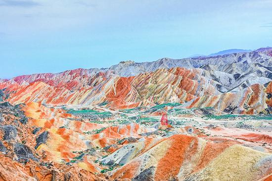 张艺谋最钟情的外景拍摄地  中国最美奇异地貌之一