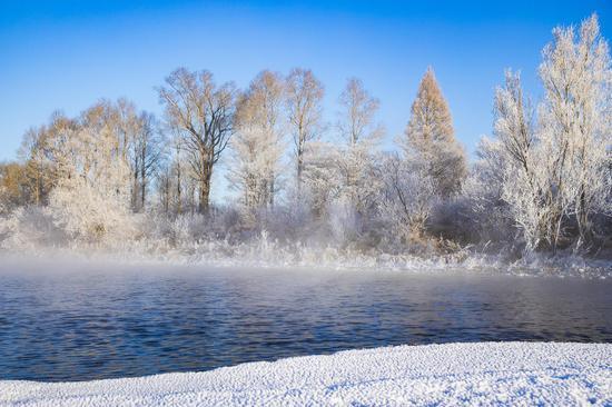 零下40度不结冰 大兴安岭有条神奇的河