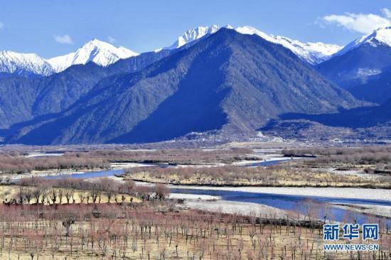 西藏雅尼国家湿地公园冬景宜人