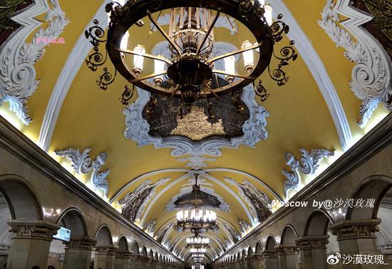10座地铁站玩转莫斯科