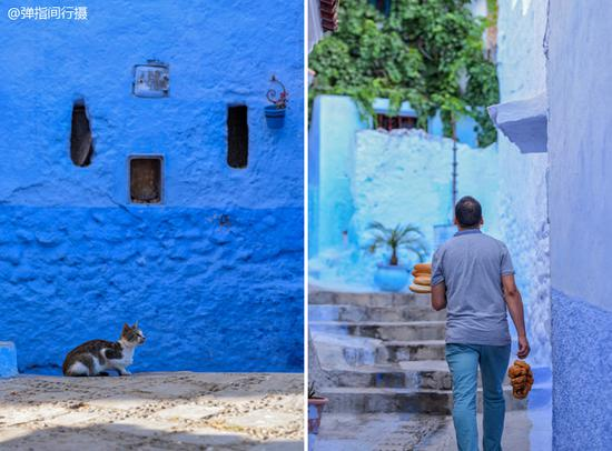 摩洛哥蓝色迷城 梦境舍夫沙万