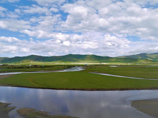 四川也有美丽的草原 这片草原仅次于呼伦贝尔排名第二