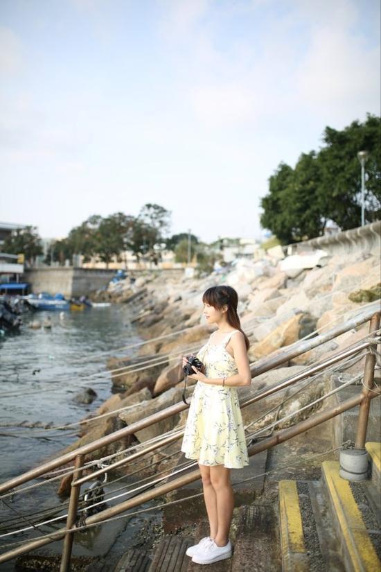 香港坪洲岛的周末时光