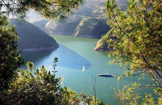 龙门峡景区。 图片来源于网络