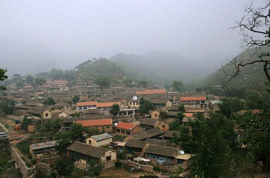 金华山的古朴村落。 图片来源于网络