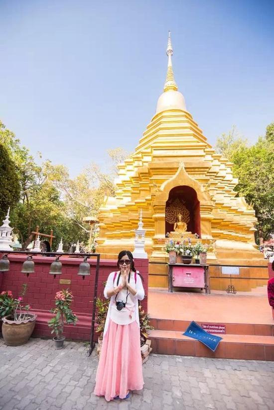 清迈平均十米就有一个寺庙的密度(夸张比喻哈哈)。