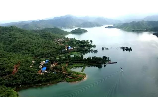 易水湖被水利部评为国家级水利风景区