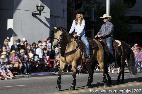 【加拿大】世界上规模最大的牛仔盛会