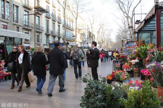 【熊猫爱旅行】和闺蜜一起感受Rambla的花样心情——<wbr>巴塞罗那.兰布拉斯大街