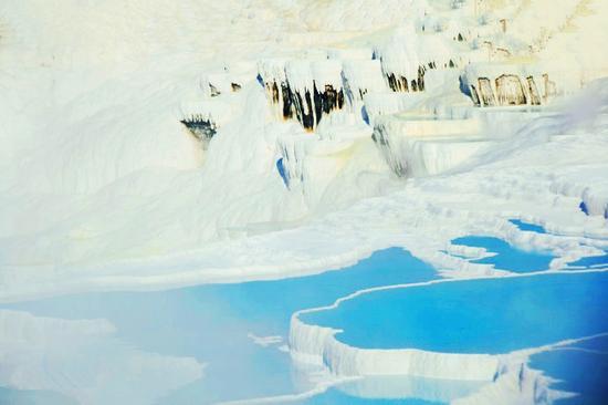 【土耳其】实拍世界最美温泉:土耳其棉花堡