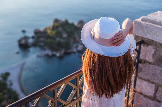 【意大利】西西里陶尔米纳:最浪漫不过有你陪我看日出