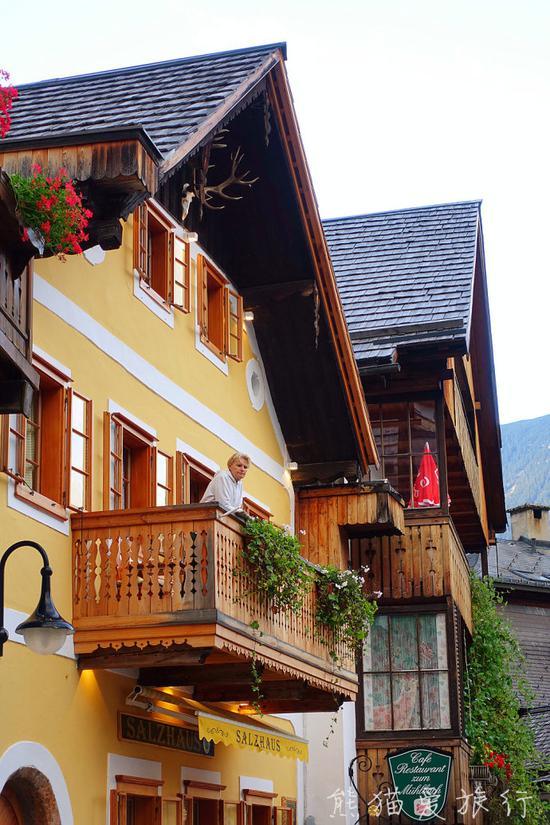 网红明信片风景照出处 全球最美小镇哈尔施塔特