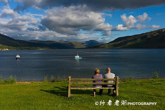 苏格兰最美的滨海小镇——阿勒浦
