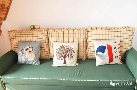 住宿的民宿房间,温馨舒适。