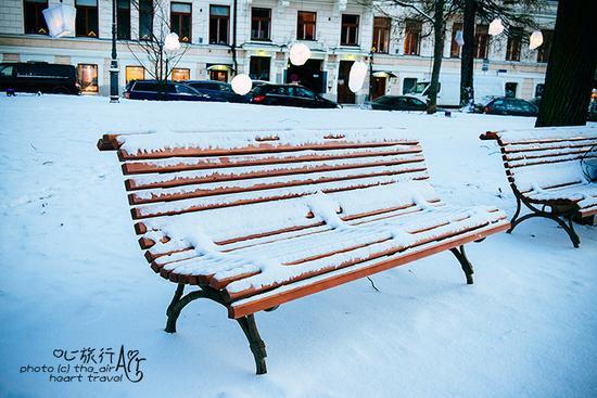 赫尔辛基,无雪不冬天