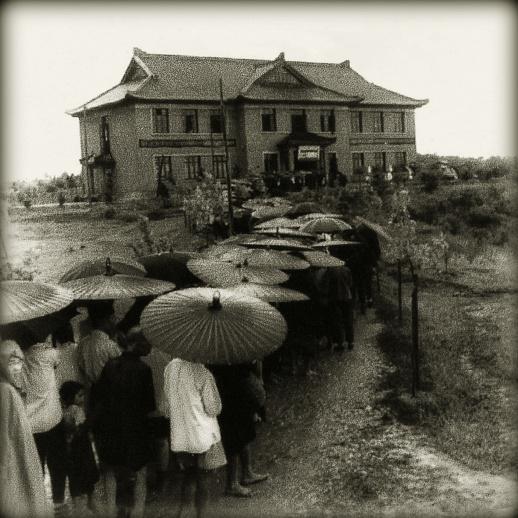 1956年开放的湖南省博物馆。(资料图片)通讯员 摄
