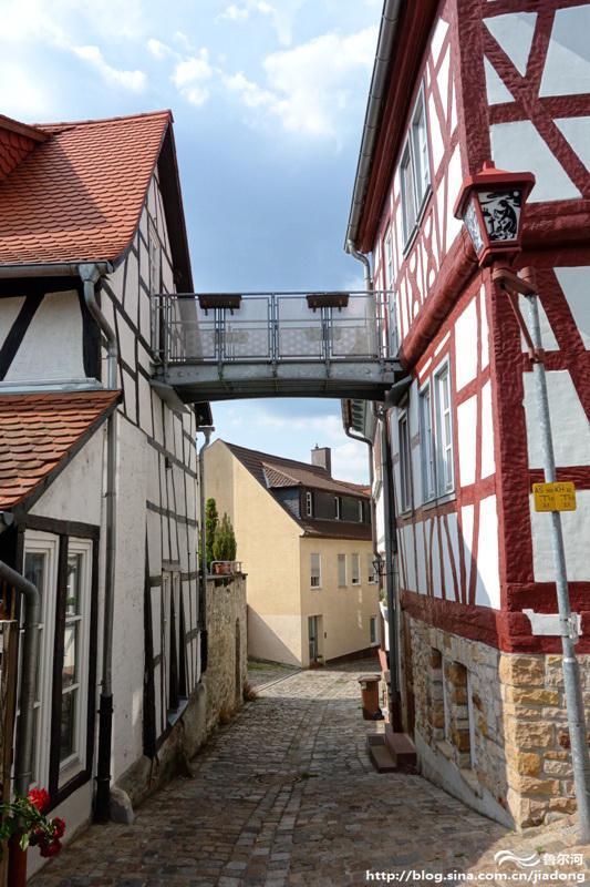 德国黑森林的精致小城