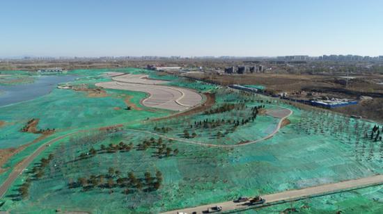 宋庄蓄滞洪区年内展现水乡美景,蓄洪兼休闲科普水景公园