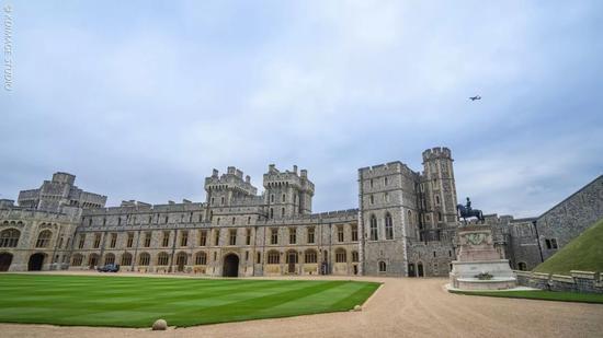 英国皇室世纪婚礼举办地温莎堡,千年历史英女王的童年回忆