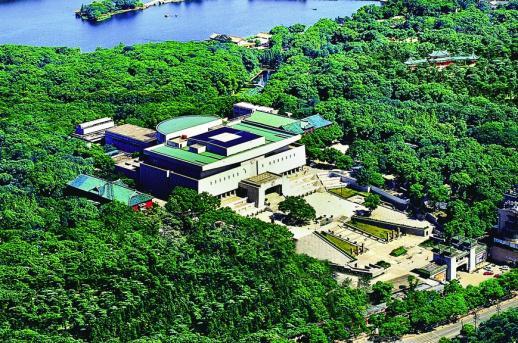 2007年9月1日,第二代湖南省博物馆。 (资料图片)通讯员 摄