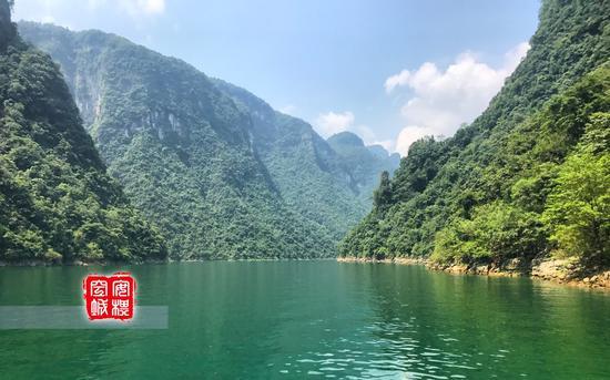 """清江是长江的一颗明珠,""""水色清明十丈,人见其清澄,故名清江。"""""""