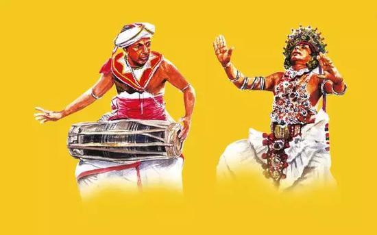 斯里兰卡最盛大佛牙节即将来临 万人路边围观