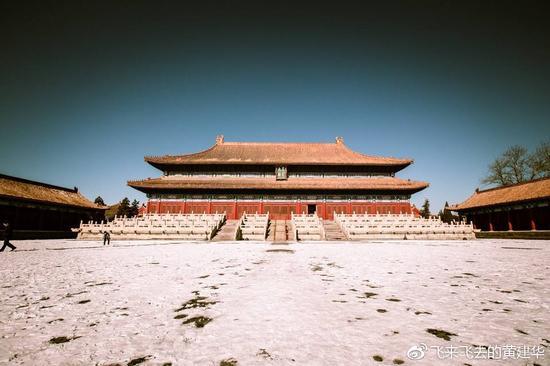 如果北京下雪了 你应该觉得它很美