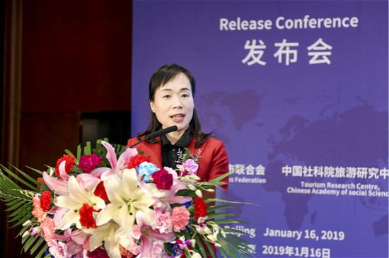 中国社会科学院旅游研究中心主任、世界旅游城市联合会特聘专家宋瑞