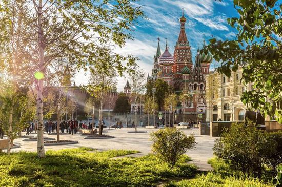 图注:莫斯科Zaryadye公园 来源:莫斯科旅游委员会