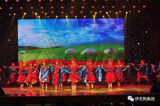 美轮美奂的蒙古族舞蹈
