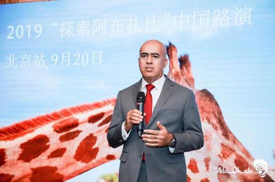 阿联酋驻华大使阿里·扎希里(博士)阁下