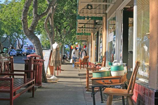 南方公园街边,图片版权:圣地亚哥旅游局