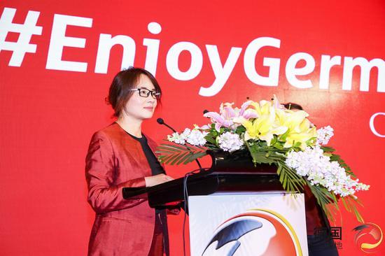 德国国家旅游局首席代表李朝晖女士
