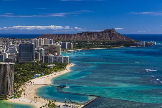 夏威夷州首府檀香山(火奴鲁鲁)