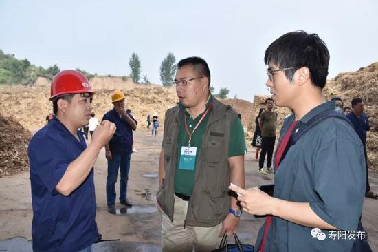记者走访寿阳绿色能源公司