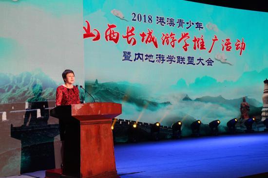 文化和旅游部港澳台旅游事务司司长李亚莹