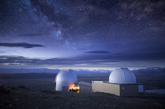 世界上最佳觀星地之一——約翰山天文臺,圖片版權:Vaughan Brookfield