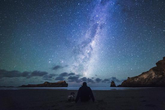 在懷拉拉帕城堡角探索星空奧秘,圖片版權:Daniel Rood