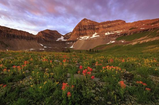 春季中的犹他州山谷©visitutah.com