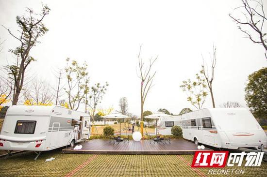 南湖悦客国际房车营地,2019年元旦已正式投入营运。