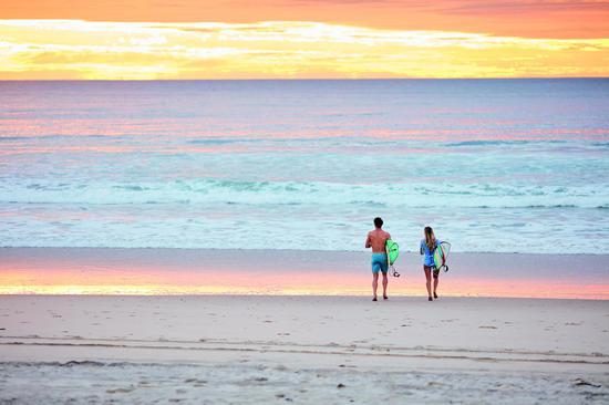 黄金海岸 图源:澳大利亚昆士兰旅游局