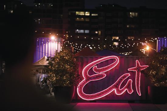 布里斯班夜市 图源:澳大利亚昆士兰旅游局