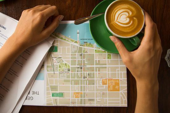 墨尔本咖啡漫步