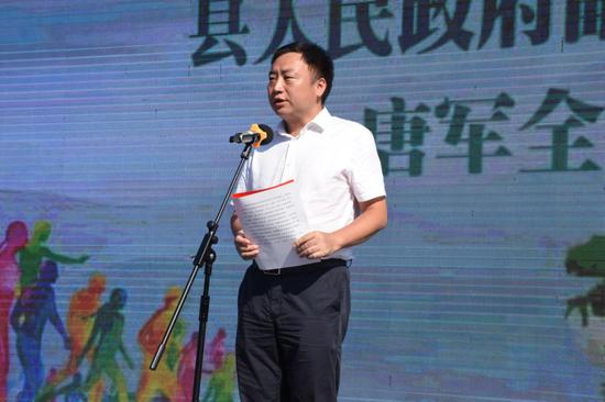 攸县人民政府副县长唐军全 参加启动仪式并致辞。