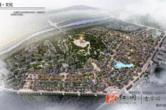以文峰塔为核心的文化旅游核心区项目