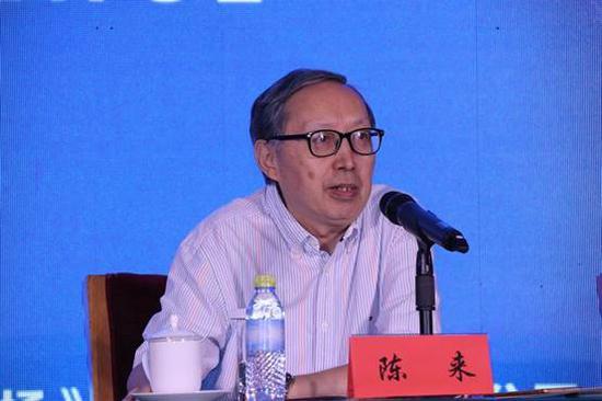 清华大学国学研究院院长陈来教授