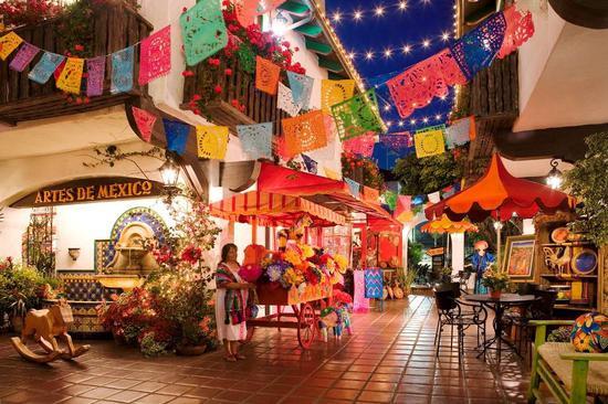 圣地亚哥老城,图片版权:圣地亚哥旅游局